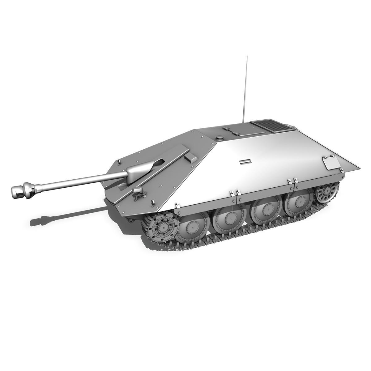 maresal m05 – romanian tank destroyer 3d model 3ds fbx c4d lwo obj 278113