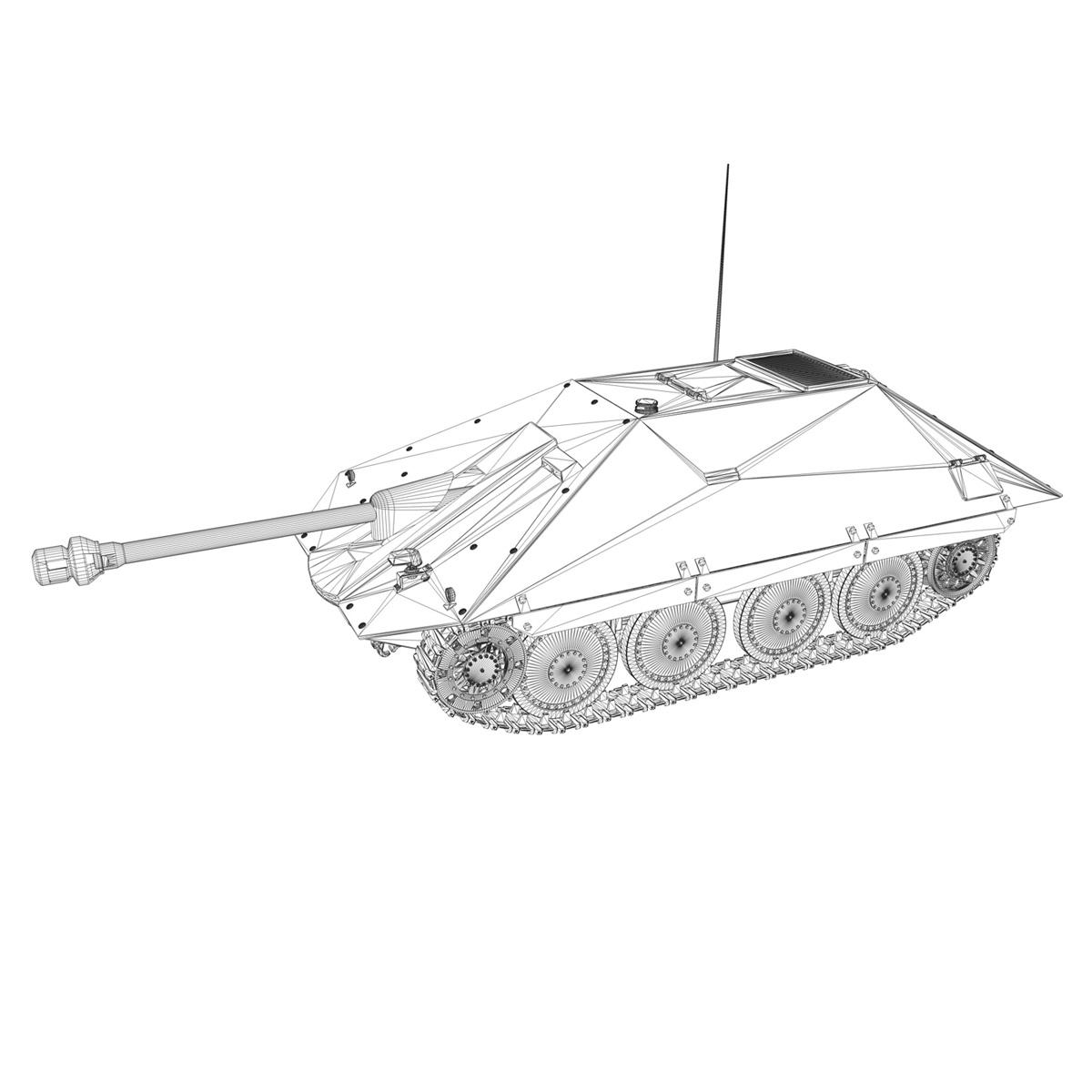 maresal m05 – romanian tank destroyer 3d model 3ds fbx c4d lwo obj 278114