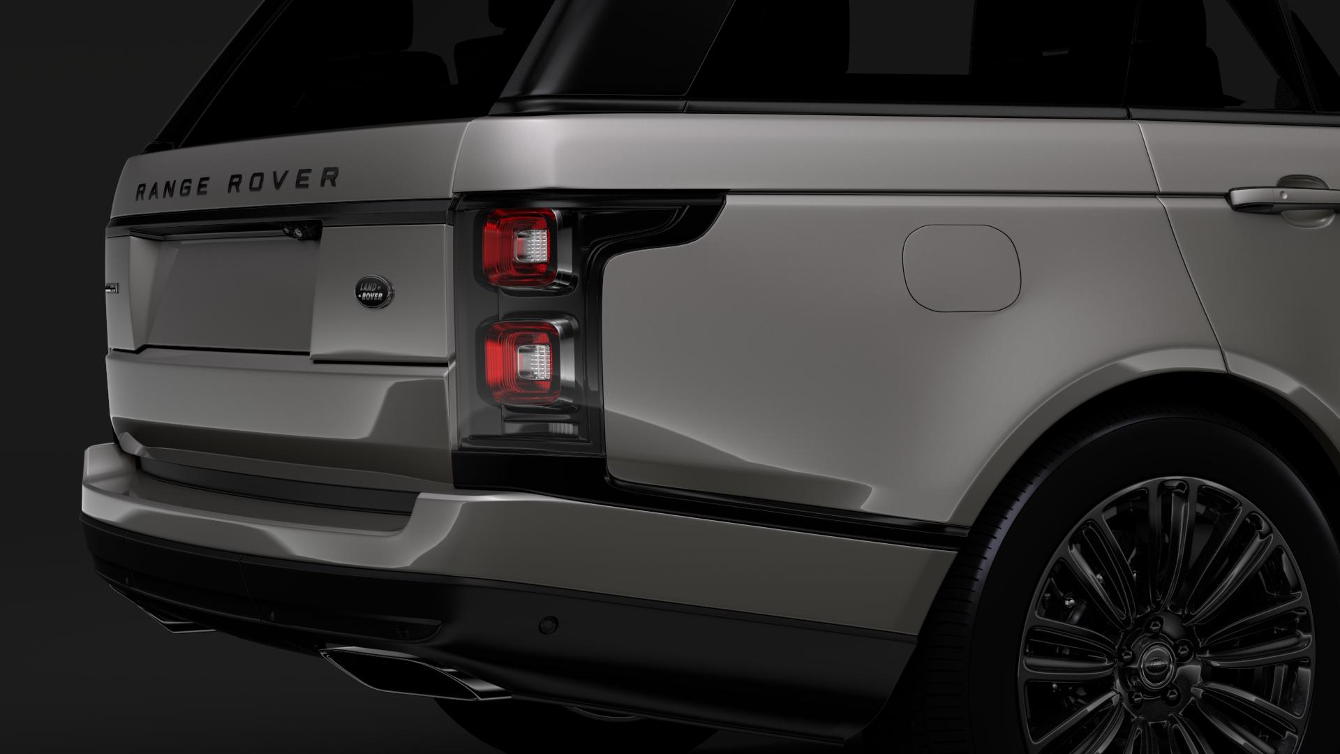 range rover autobiography hybrid (l405) 2018 3d model max fbx c4d lwo ma mb hrc xsi obj 278147