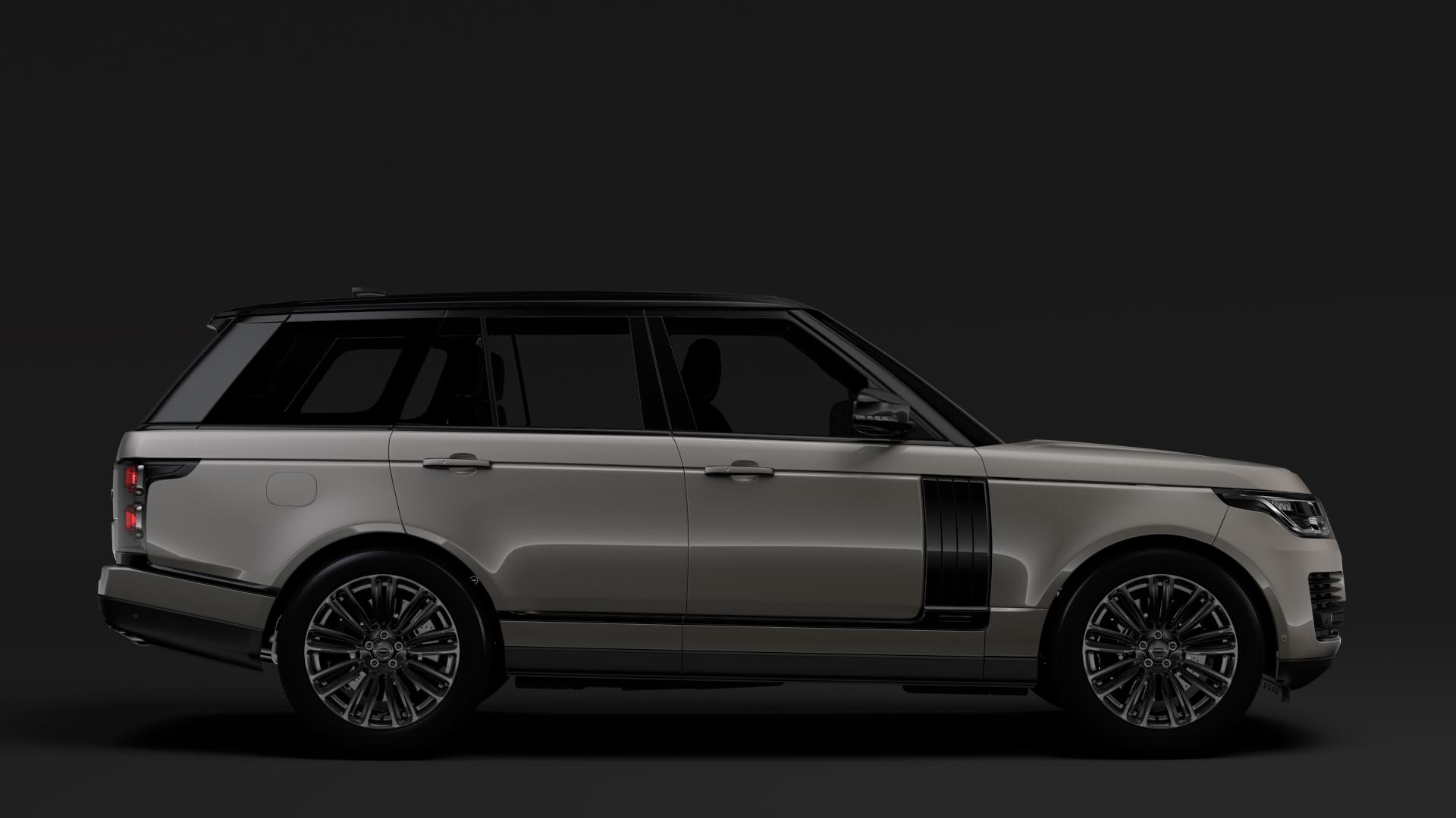 range rover autobiography hybrid (l405) 2018 3d model max fbx c4d lwo ma mb hrc xsi obj 278149