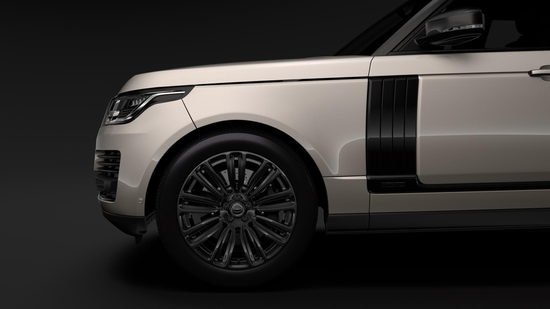 range rover autobiography hybrid (l405) 2018 3d model max fbx c4d lwo ma mb hrc xsi obj 278150