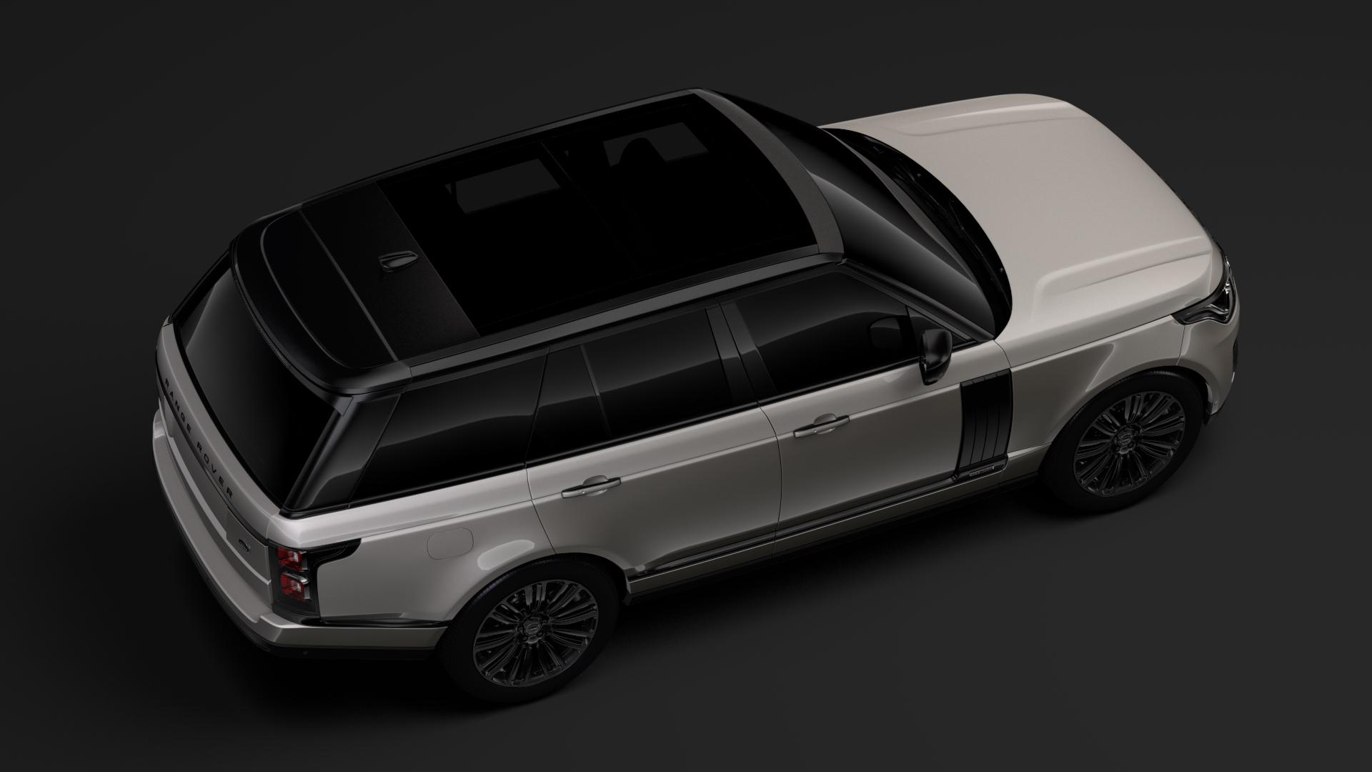 range rover autobiography hybrid (l405) 2018 3d model max fbx c4d lwo ma mb hrc xsi obj 278152