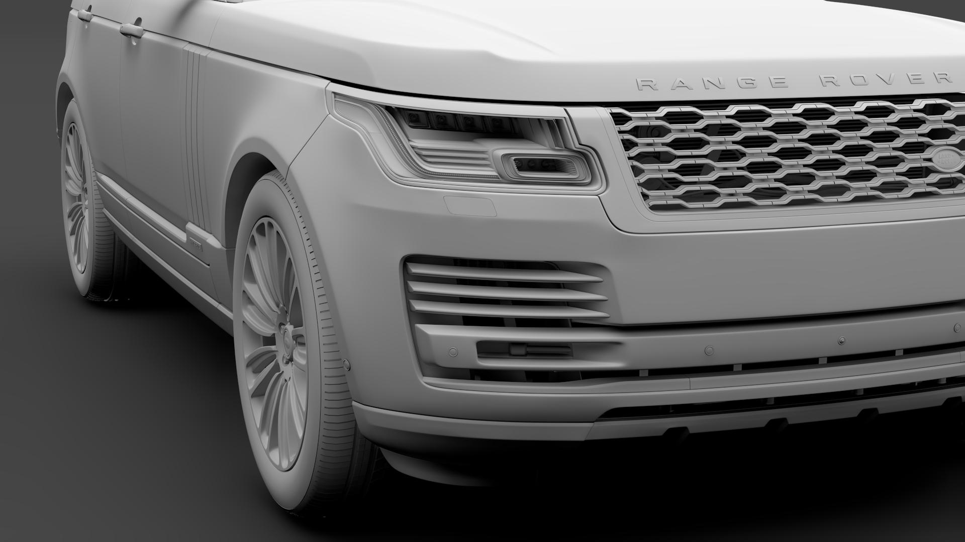range rover autobiography hybrid (l405) 2018 3d model max fbx c4d lwo ma mb hrc xsi obj 278154