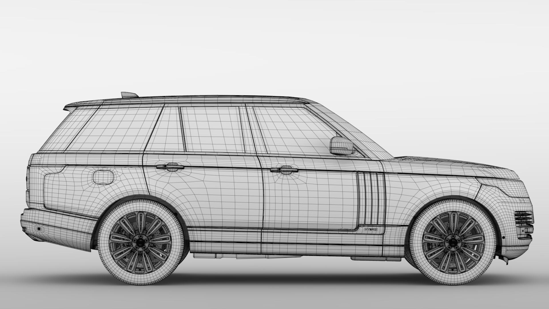 range rover autobiography hybrid (l405) 2018 3d model max fbx c4d lwo ma mb hrc xsi obj 278159