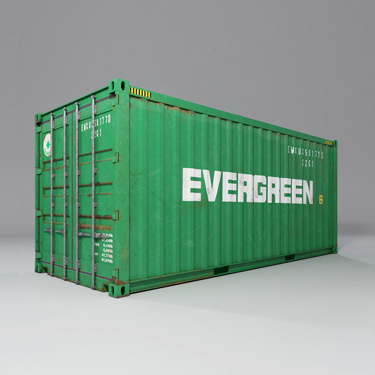 20 feet shipping container 3d model max fbx ma mb obj 278367