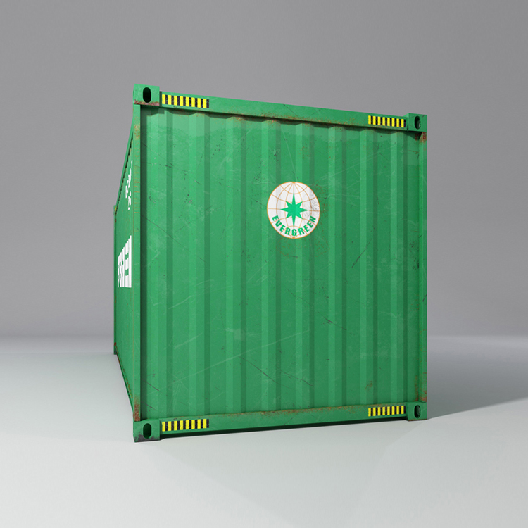 20 feet shipping container 3d model max fbx ma mb obj 278370
