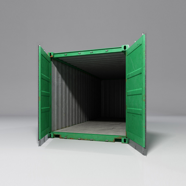 20 feet shipping container 3d model max fbx ma mb obj 278371