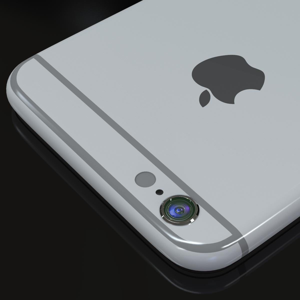 apple iphone 6s 3d model max fbx ma mb texture obj 278460