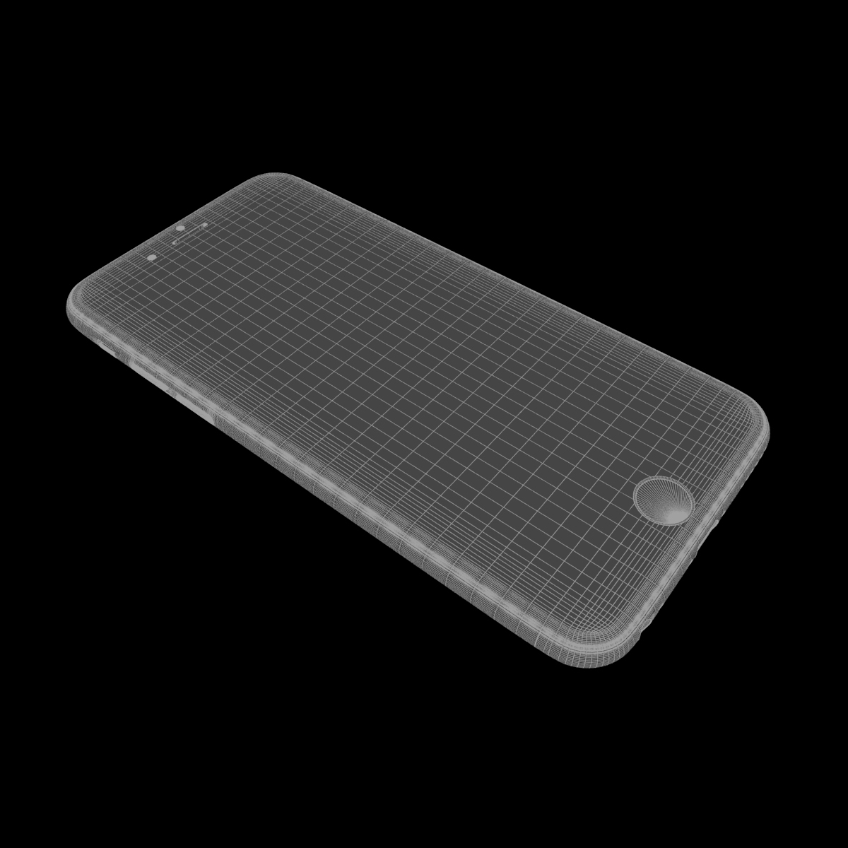 apple iphone 6s 3d model max fbx ma mb texture obj 278462