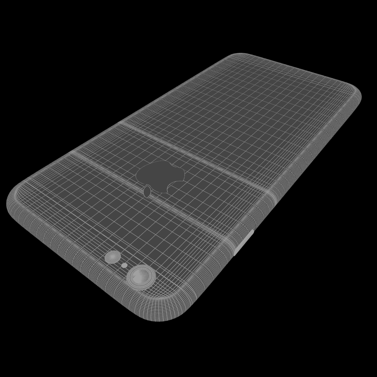 jabuka iphone 6s 3d model max fbx ma mb tekstura obj 278463