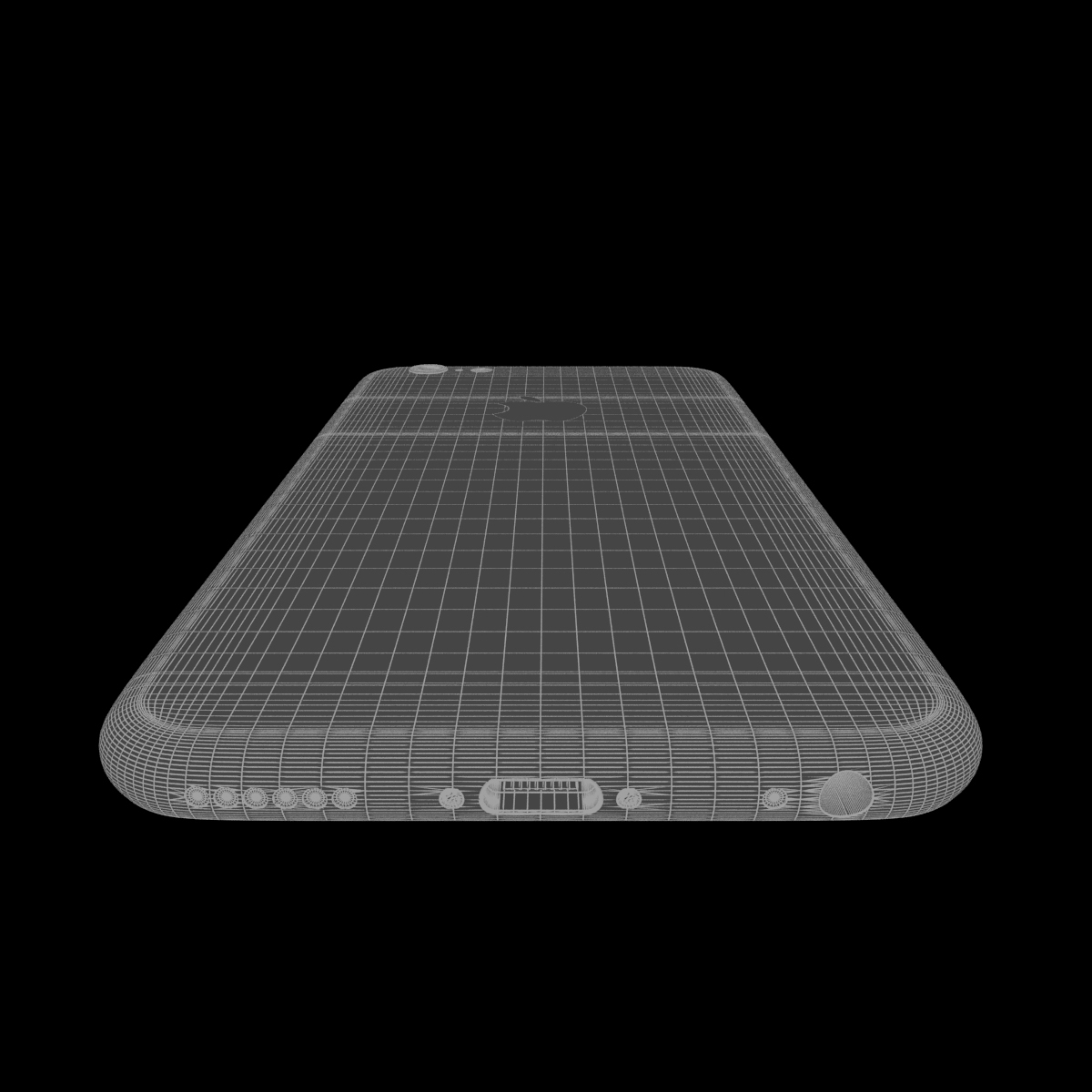 apple iphone 6s 3d model max fbx ma mb texture obj 278464
