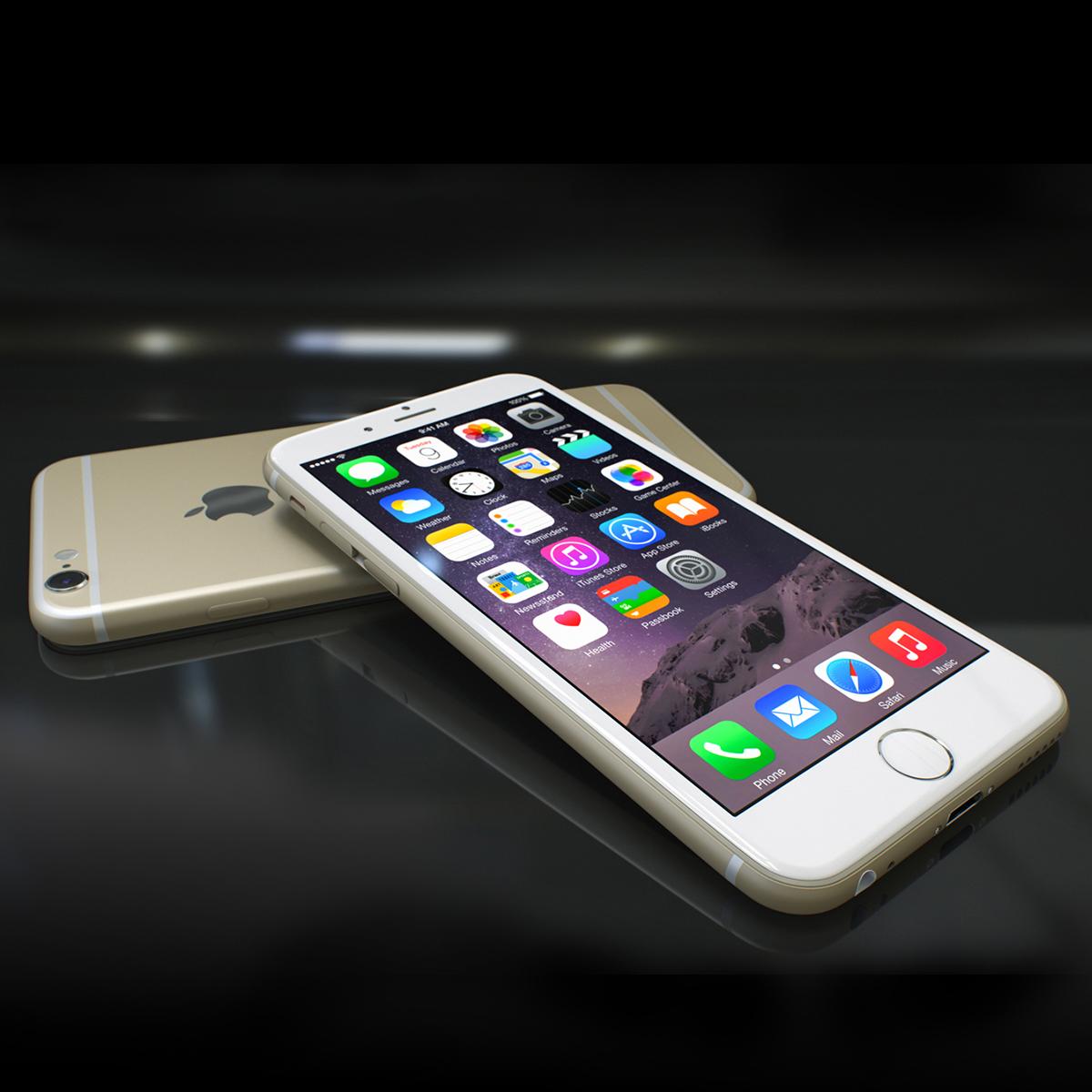 Apple Iphone 6s 3d model max fbx ma mb  obj 278465