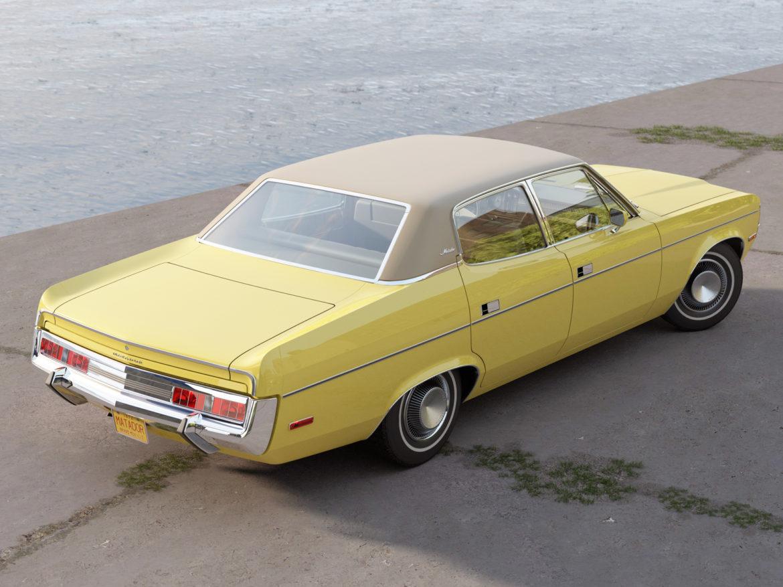 amc matador 1972 3d modell 3ds max fbx c4d obj 278522