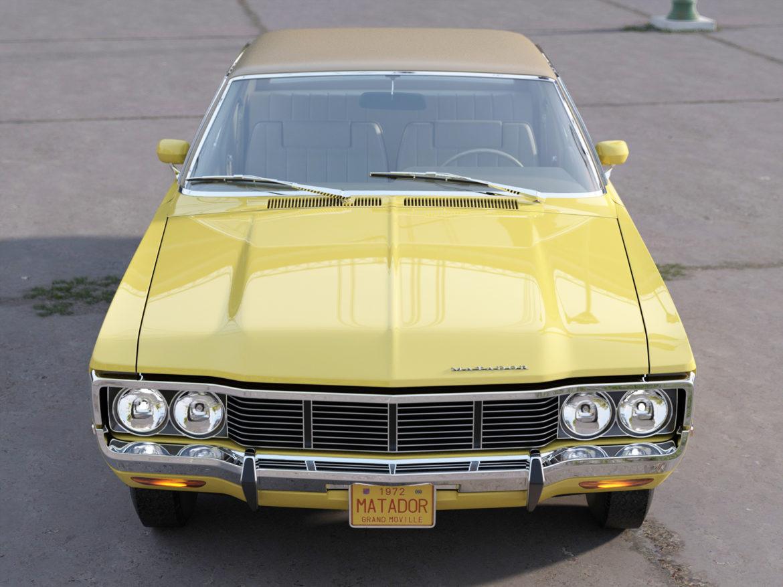 amc matador 1972 3d modell 3ds max fbx c4d obj 278523