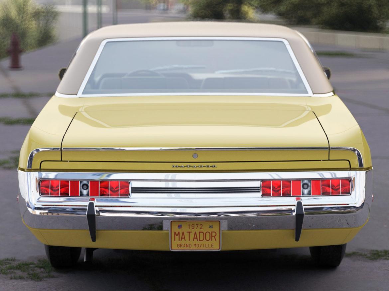 amc matador 1972 3d modell 3ds max fbx c4d obj 278525