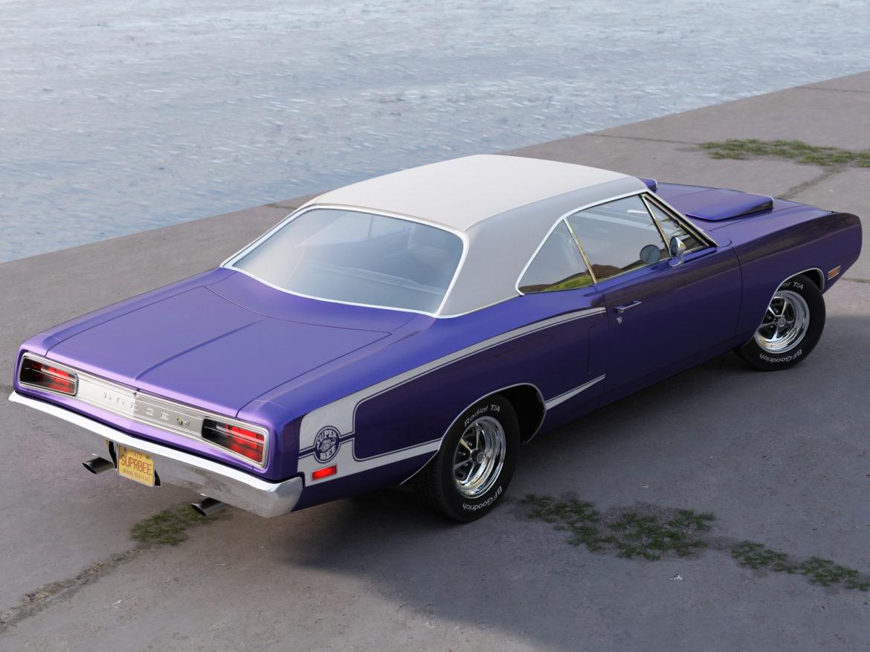 Dodge kóróna frábær bí 1970 3d líkan 3ds max fbx c4d obj 278534