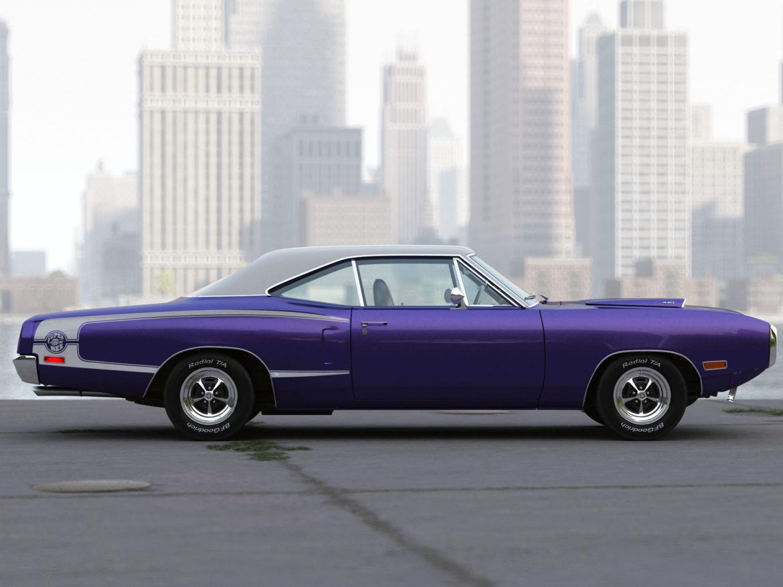 Dodge kóróna frábær bí 1970 3d líkan 3ds max fbx c4d obj 278536