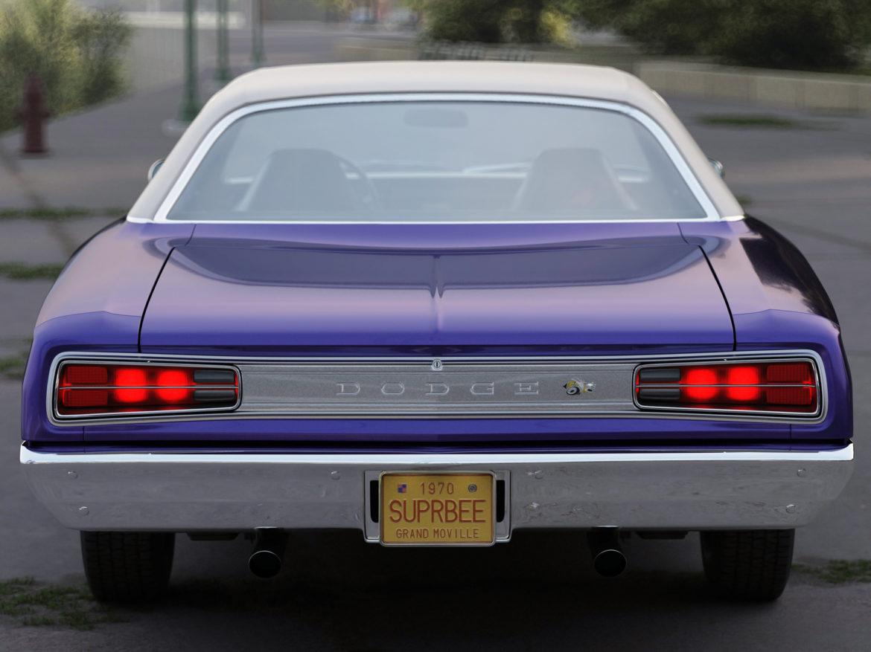 Dodge kóróna frábær bí 1970 3d líkan 3ds max fbx c4d obj 278537