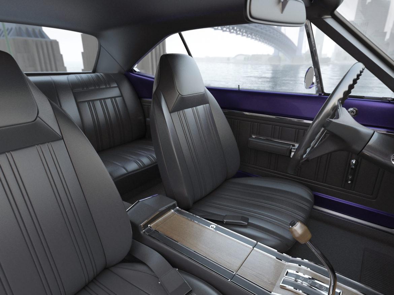 Dodge kóróna frábær bí 1970 3d líkan 3ds max fbx c4d obj 278543