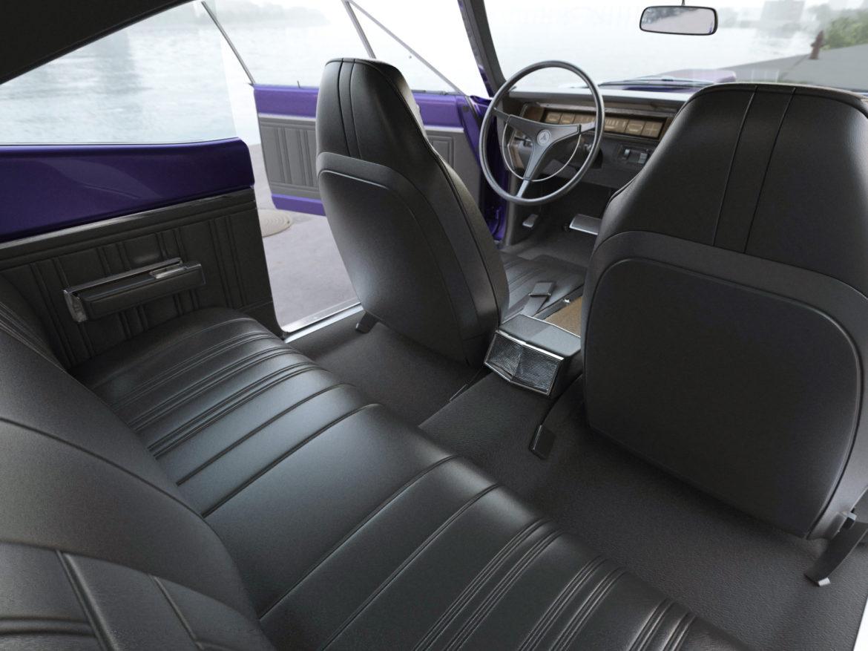 Dodge kóróna frábær bí 1970 3d líkan 3ds max fbx c4d obj 278544