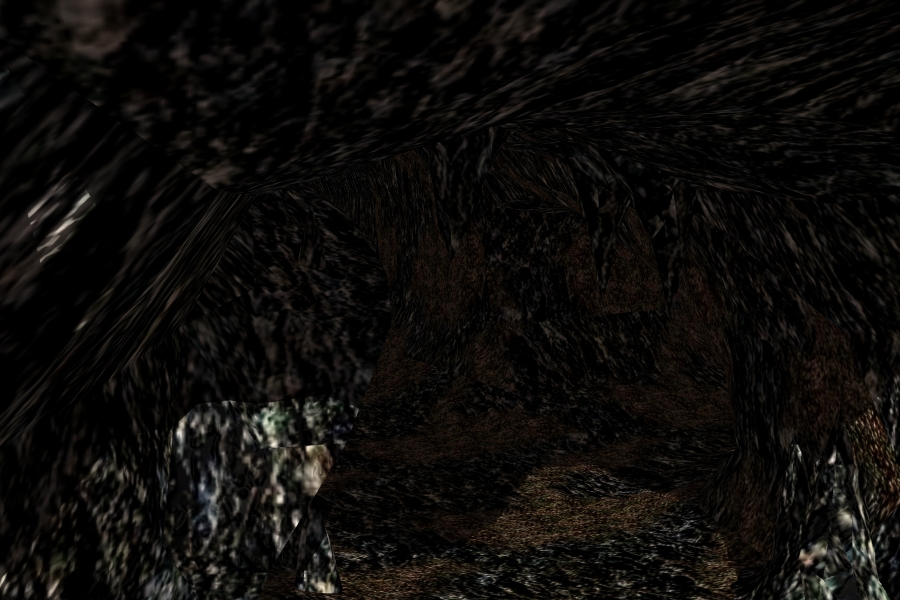 the cave scene 3d model lwo 278664