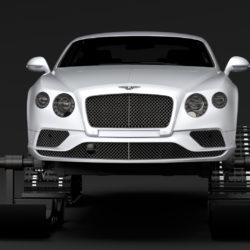 Bentley Continental GT Ski 2018 3d model high poly max fbx c4d lwo lws lw ma mb  obj