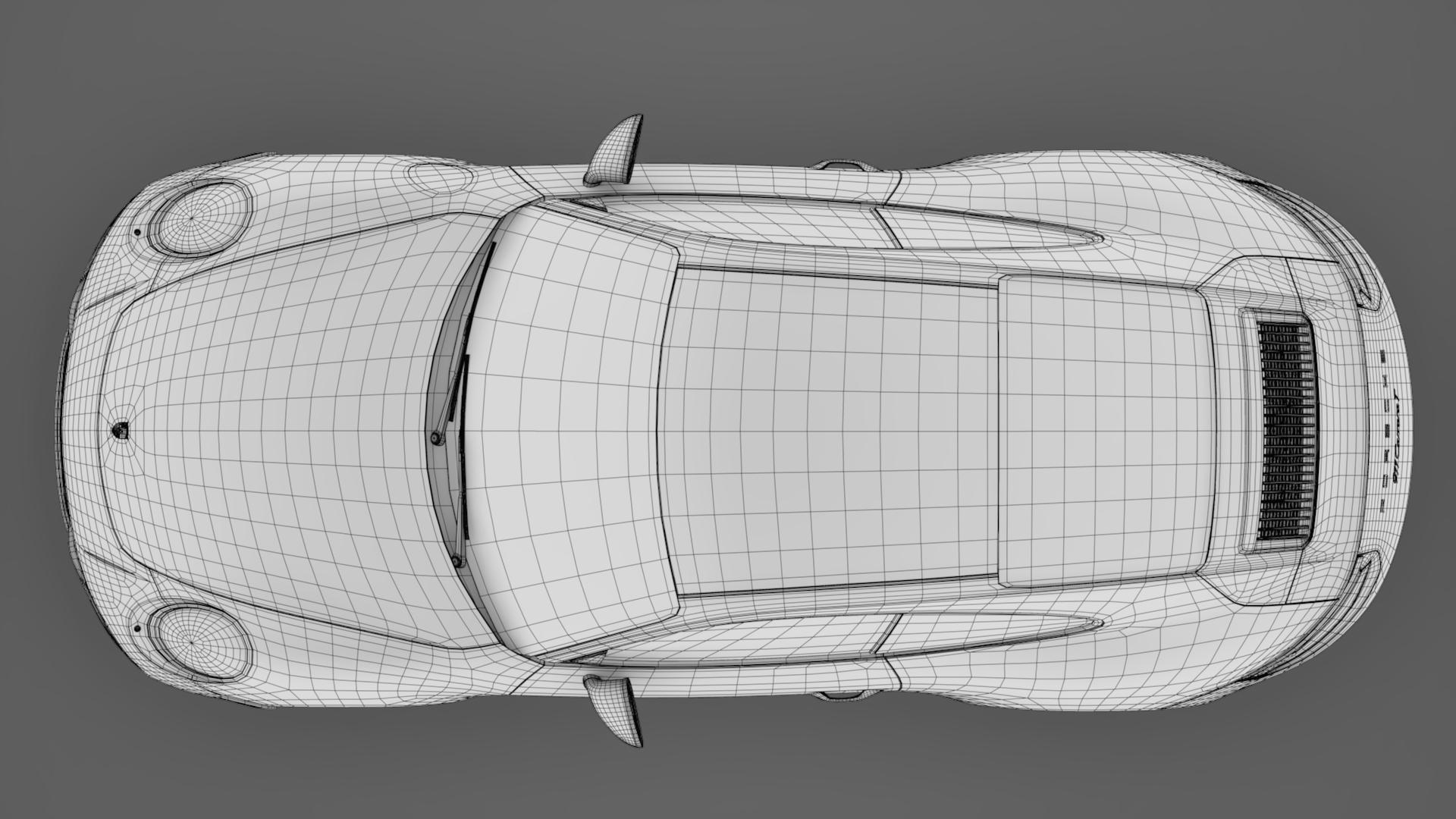 porsche 911 carrera t coupe (991) 2018 3d model max fbx c4d lwo ma mb hrc xsi obj 278982