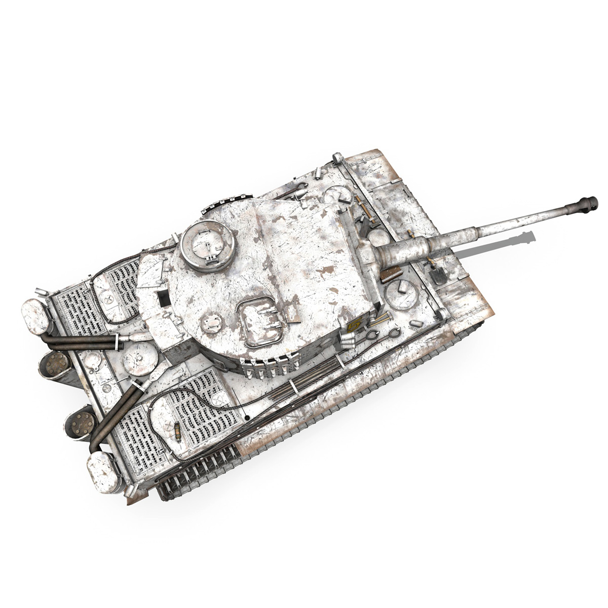 panzer vi – tiger – 5 – early production 3d model 3ds c4d lwo obj 279359