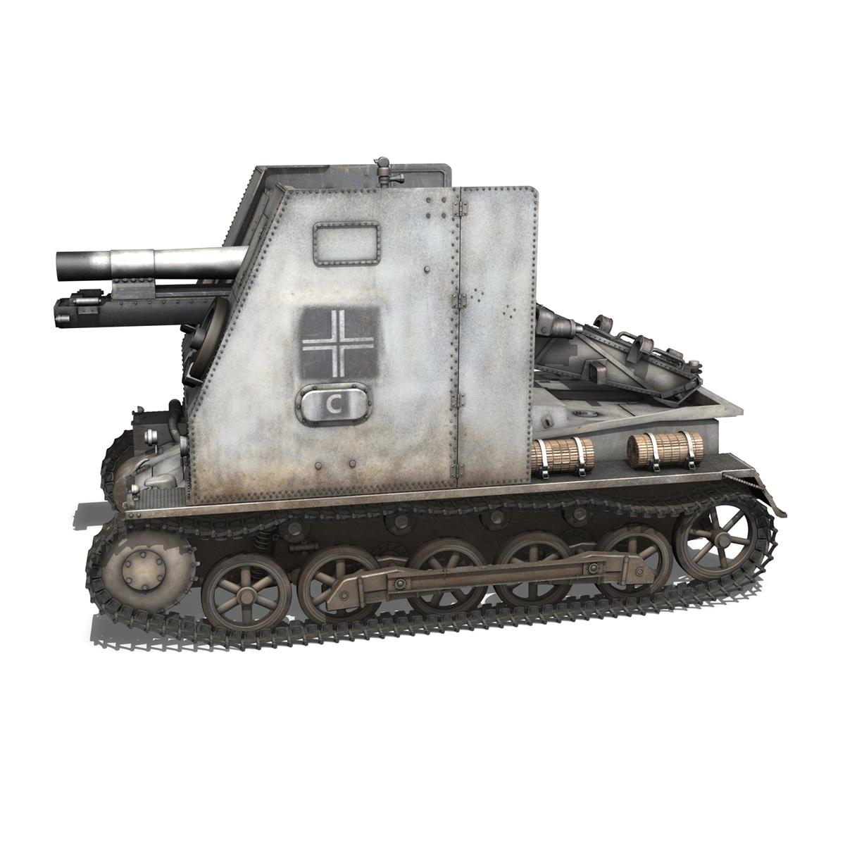 sturmpanzer1 bison 5pzdiv 3d model 3ds lwo lw lws obj c4d 279498