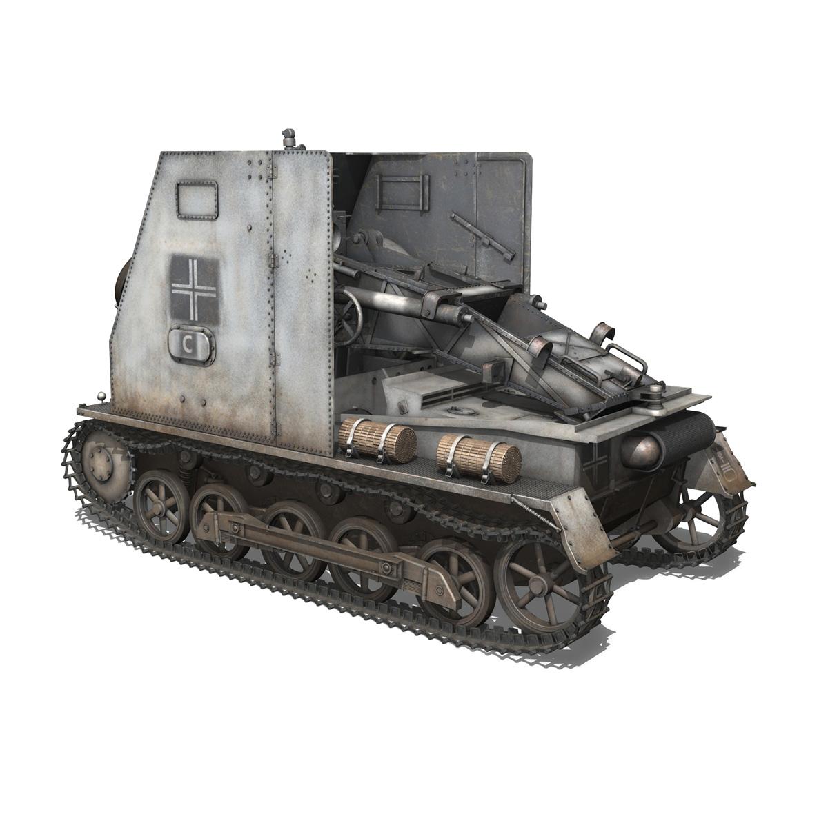 sturmpanzer1 – bison – 5pzdiv 3d model 3ds lwo lw lws obj c4d 279499