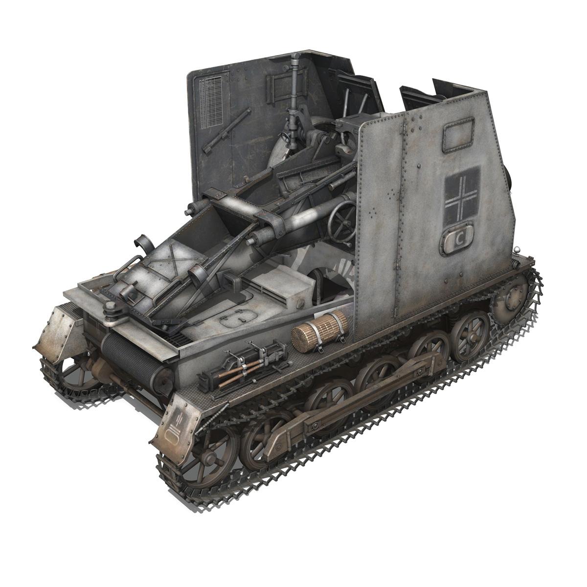 sturmpanzer1 bison 5pzdiv 3d model 3ds lwo lw lws obj c4d 279500