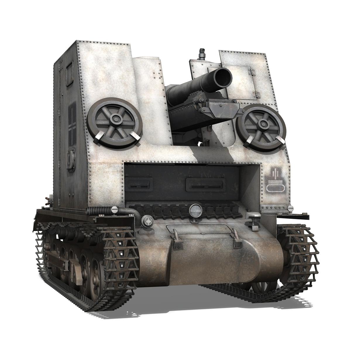 sturmpanzer1 – bison – 5pzdiv 3d model 3ds lwo lw lws obj c4d 279502