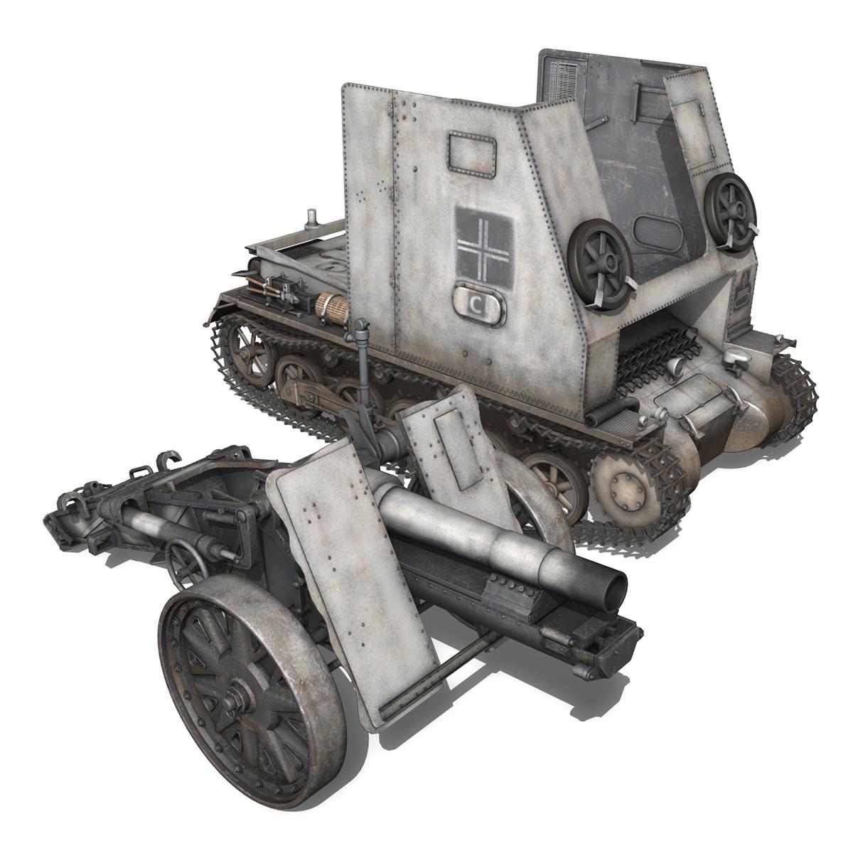 sturmpanzer1 bison 5pzdiv 3d model 3ds lwo lw lws obj c4d 279503