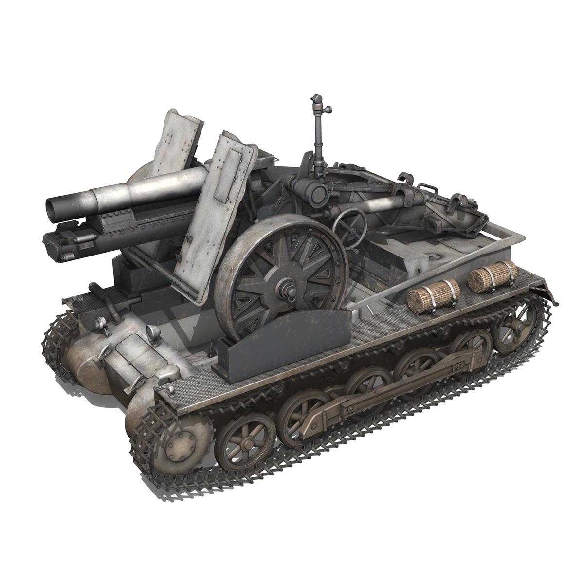 sturmpanzer1 – bison – 5pzdiv 3d model 3ds lwo lw lws obj c4d 279504