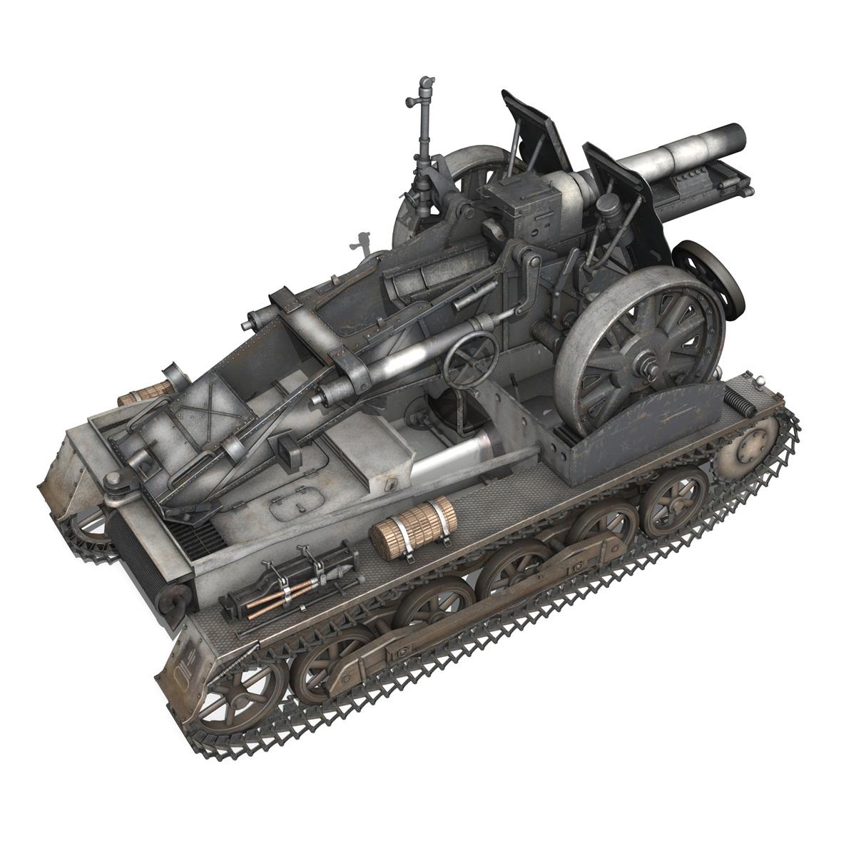 sturmpanzer1 – bison – 5pzdiv 3d model 3ds lwo lw lws obj c4d 279505