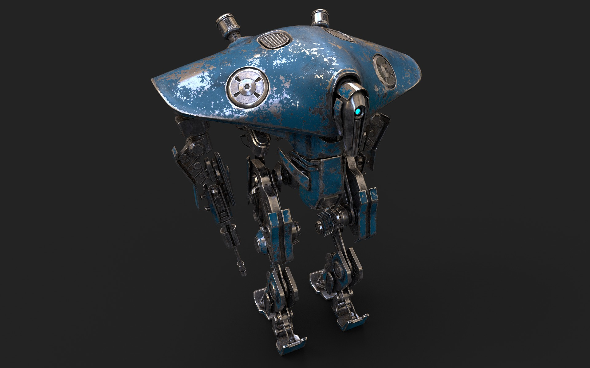 Heavy Robot VEX700 3d model 3ds max fbx obj 279576