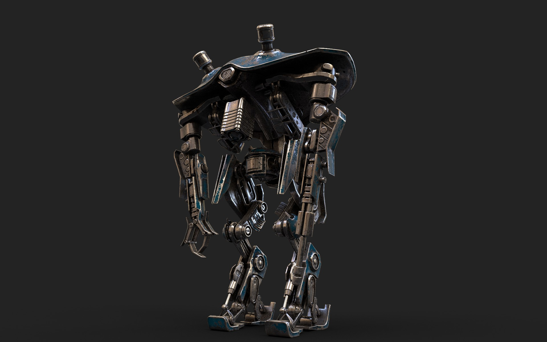 heavy robot vex700 3d model 3ds max fbx obj 279579