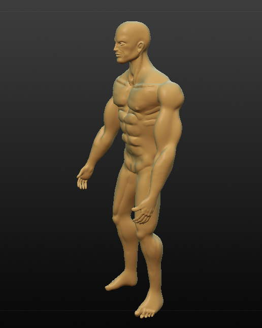 tarzan in the wild 3d model obj 279613