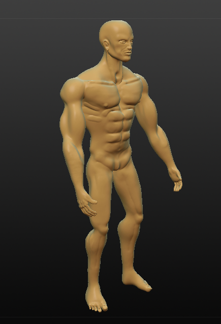 tarzan in the wild 3d model obj 279617