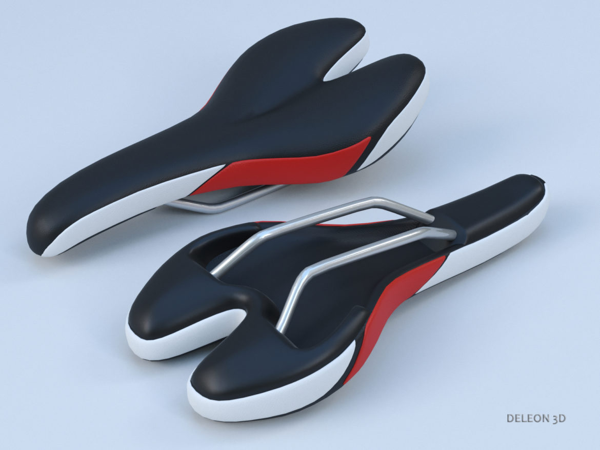 bicycle seat 3d model max fbx c4d lxo  obj 279663