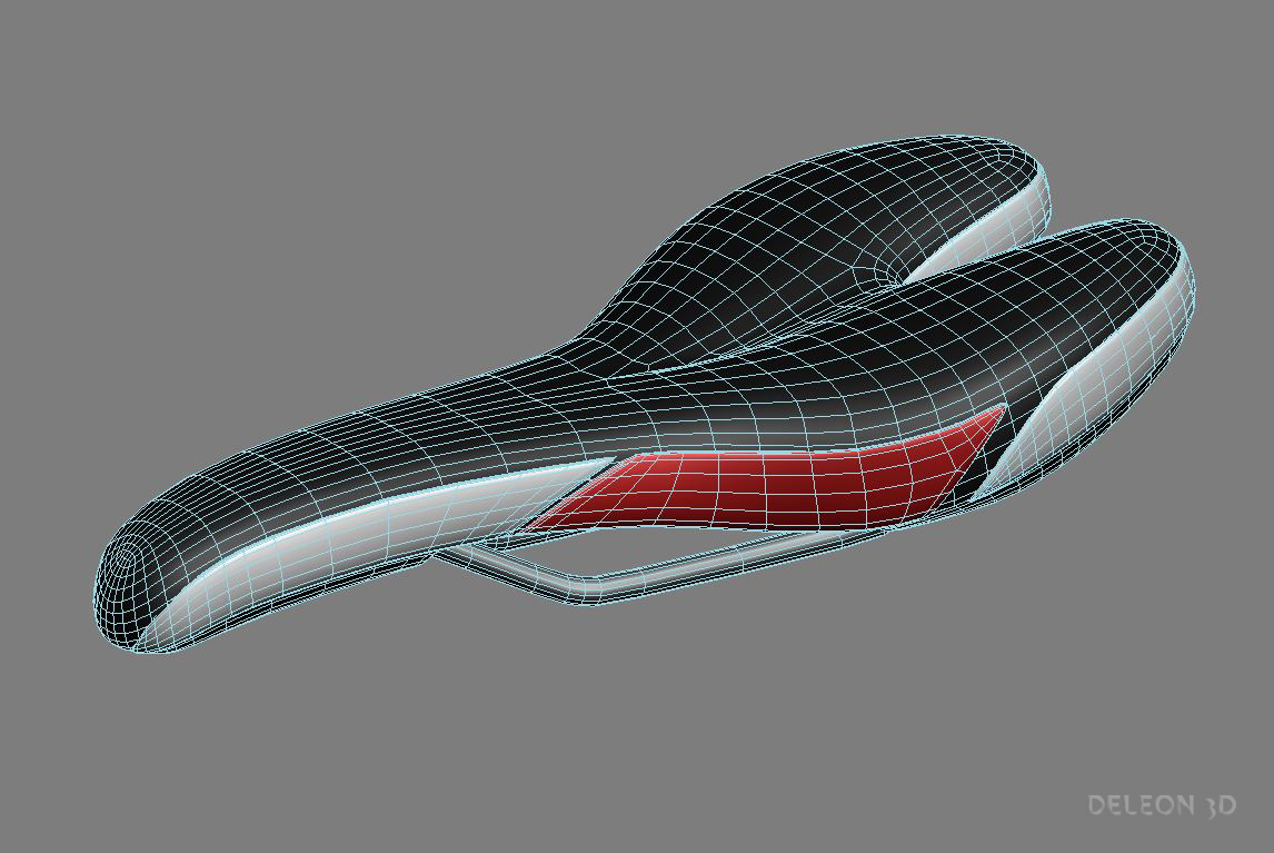 bicycle seat 3d model max fbx c4d lxo  obj 279665
