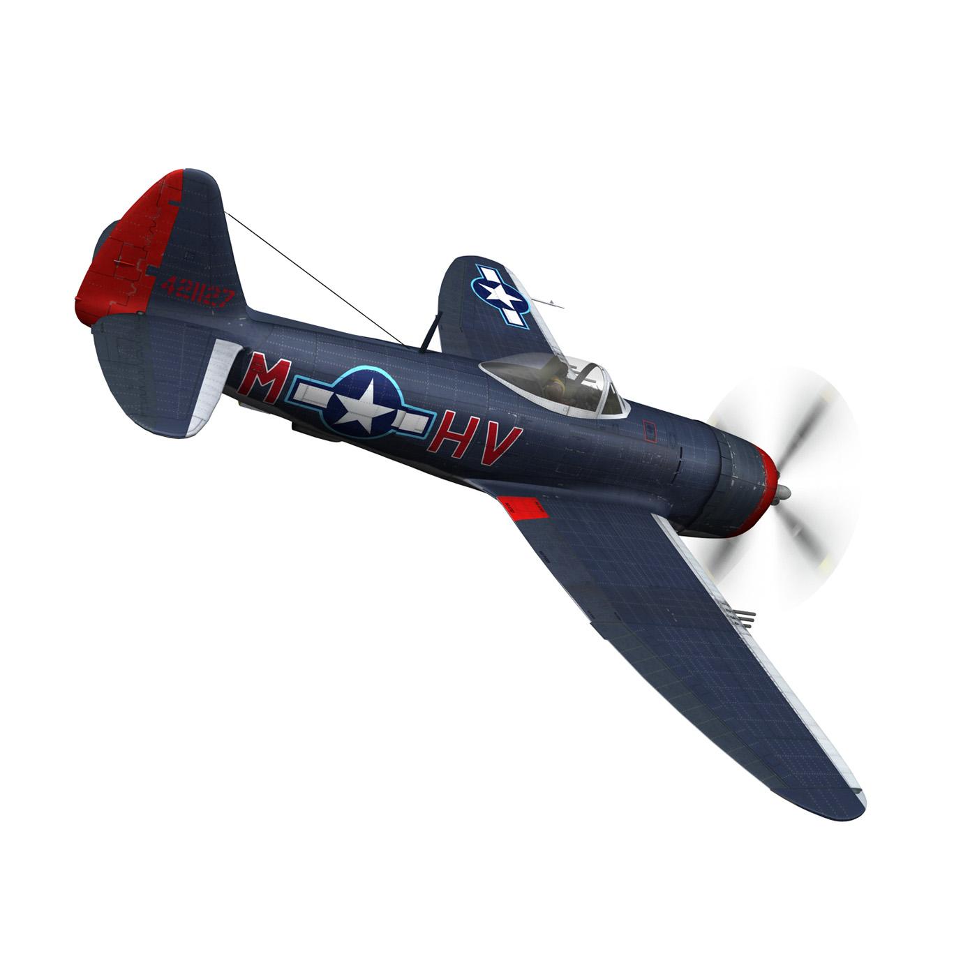 republic p-47m thunderbolt – pengie v 3d model 3ds c4d fbx lwo lw lws obj 279721