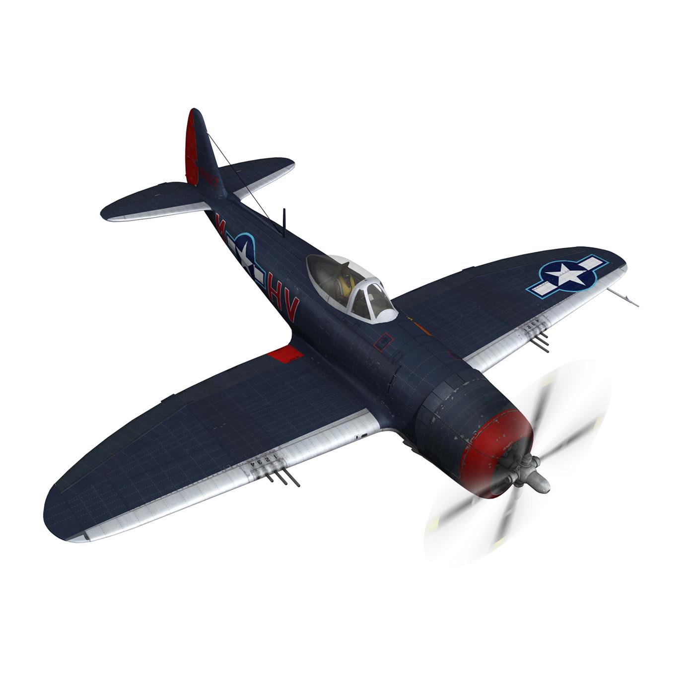 republic p-47m thunderbolt – pengie v 3d model 3ds c4d fbx lwo lw lws obj 279723
