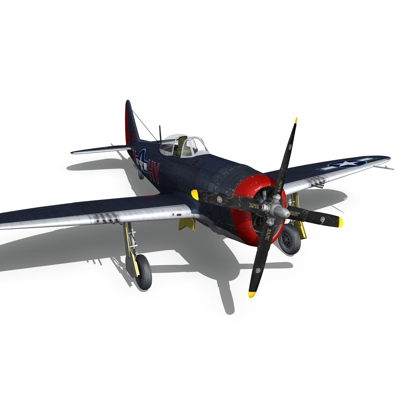 republic p-47m thunderbolt – pengie v 3d model 3ds c4d fbx lwo lw lws obj 279730