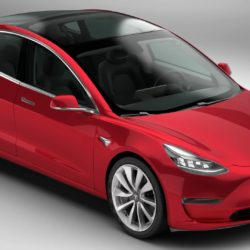 Tesla Model 3 2018 3d model high poly 3ds max fbx c4d lwo lws lw ma mb obj