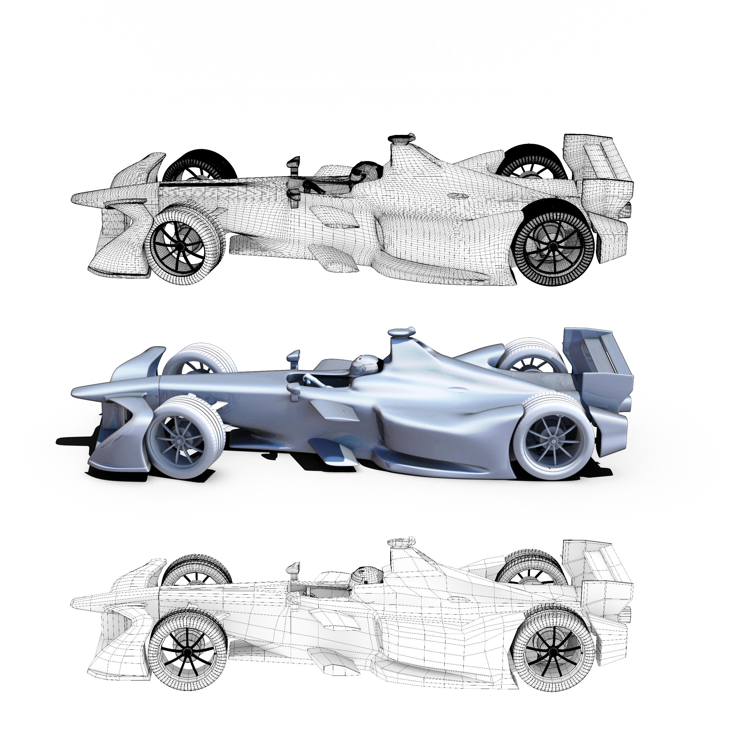 formula 2018 3d model 3ds obj ma mb fbx dae c4d 279932