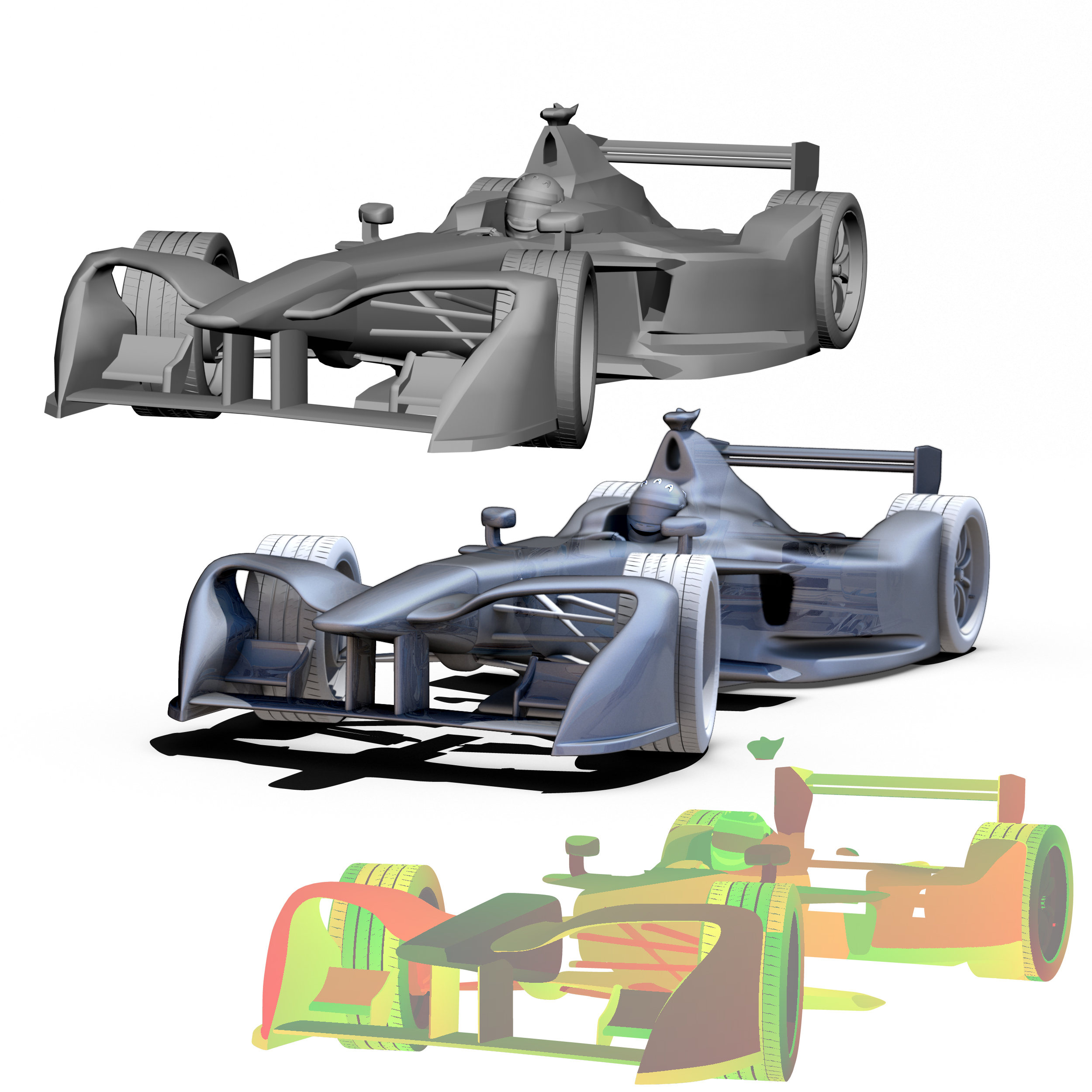 formula 2018 3d model 3ds obj ma mb fbx dae c4d 279933