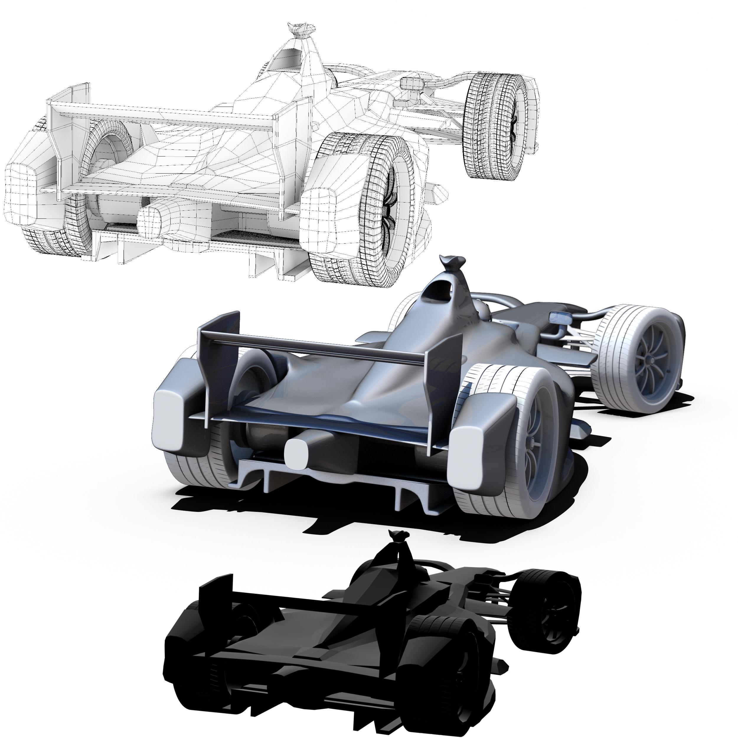 formula 2018 3d model 3ds obj ma mb FBX dae c4d 279937
