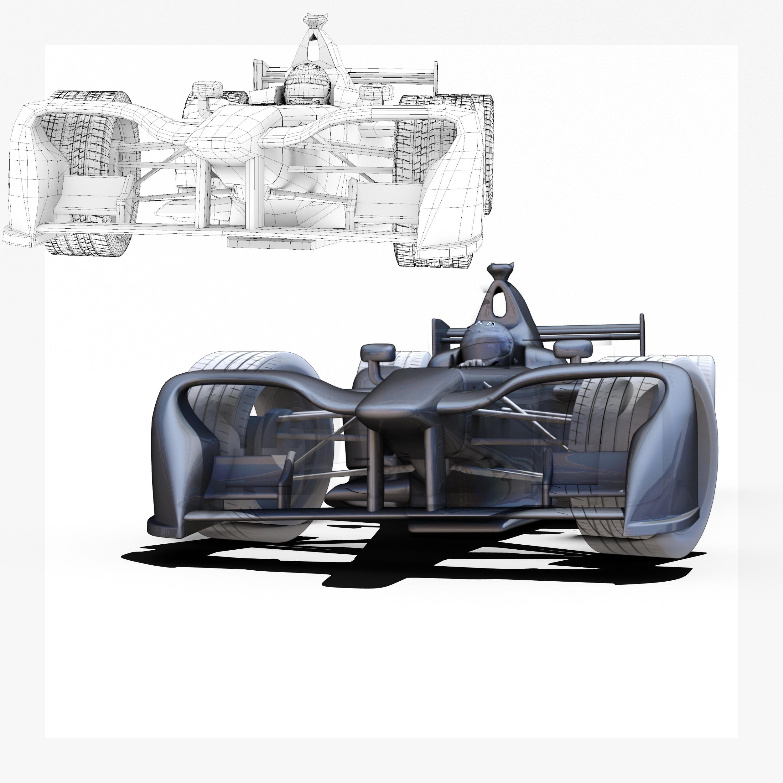 formula 2018 3d model 3ds obj ma mb FBX dae c4d 279938