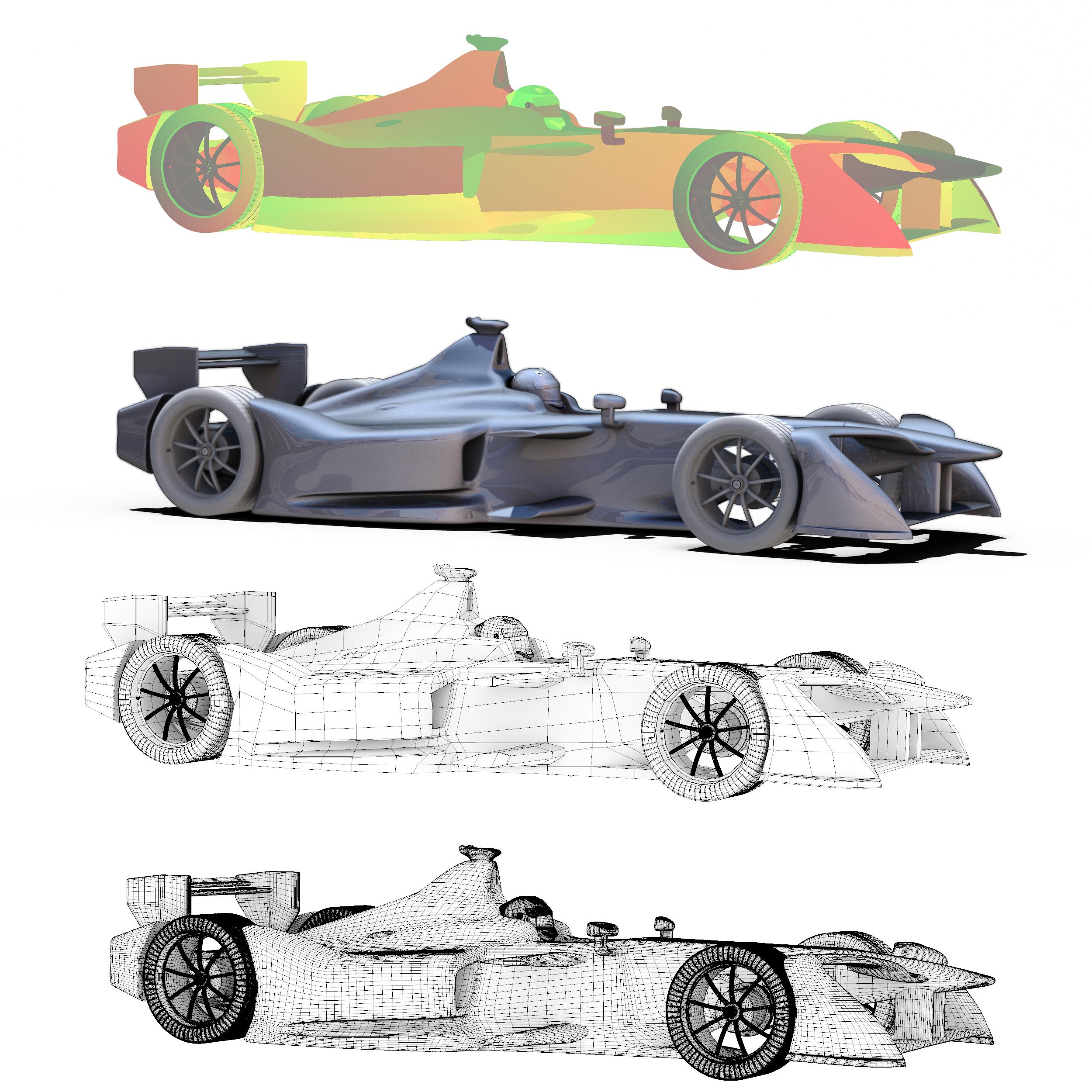 formula 2018 3d model 3ds obj ma mb fbx dae c4d 279940